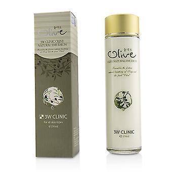 3W Klinik Olive natürlichen Emulsion 150ml / 5oz