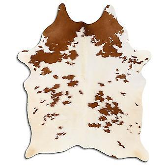 Aito lehmän nahka 7964 suolaa ja pippuria ruskea ja valkoinen 2-3 M Grade A
