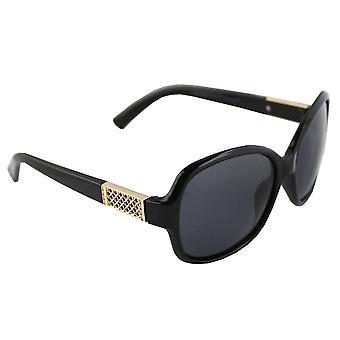 Aurinkolasit Naisten Polaroid Soikea - Kulta/Musta ilmainen brillenkokerS324_3