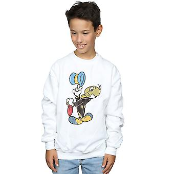 Disney Boys Pinocchio Jiminy Cricket Sweatshirt