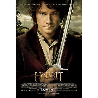 The Hobbit An Unexpected Journey Poster Double Sided Regular (2012) Original Cinema Poster