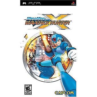Mega Man Maverick Hunter X spel-ny