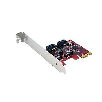 Karta řadiče startech 2 port PCIe SATA 6 GB/s
