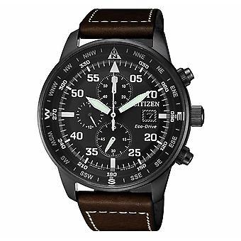 Cittadino Ca0695-17th Cronografo Eco-Drive Orologio da uomo 44 Mm