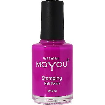 MoYou Stamping Nail Art - Special Nail Polish - Razzle Dazzle Rose 12ml