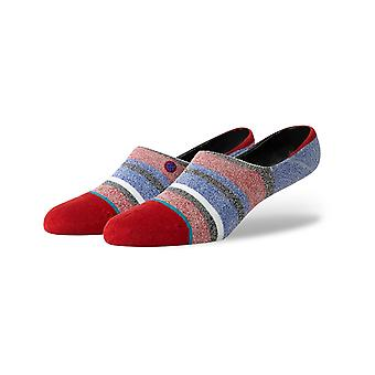 Stance Noosa Invisible No Show Socks in Red