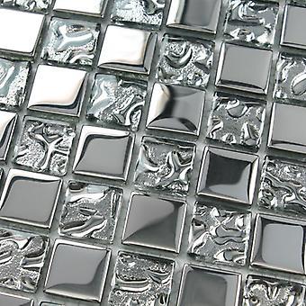 Mosaik D-sign Kristall Gold Silver