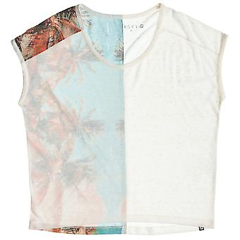 Roxy Fashion Dolman A Short Sleeve T-Shirt in Sea Spray