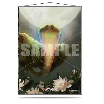 Lotus Cobra Wall Scroll