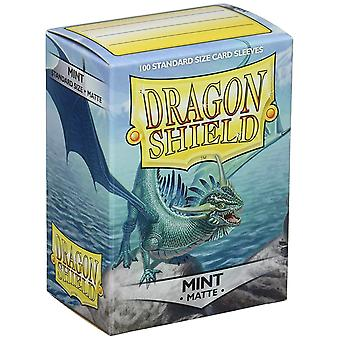 Dragon Shield Matte - Menta 100ct. en caja (Pack de 10)