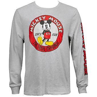 Mickey Mouse True alkuperäinen pitkähihainen paita
