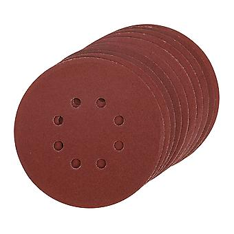 Hook and Loop Sanding Disc 150mm 10pk - 150mm 240 Grit