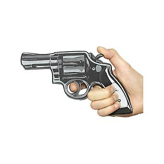 Smiffy's Cartoon Pistol Gun, Black, Eva