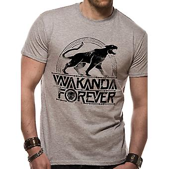 Marvel Black Panther Movie - Wakanda Forever T-Shirt