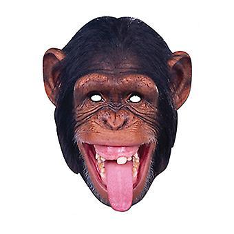 Schimpanse Affe Tier Karte Party Ausgefallene Kleid Maske