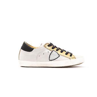 Women's Philippe Model Gold Sneakers