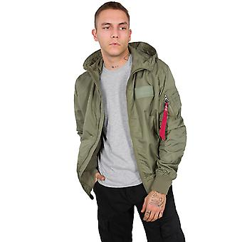 Alpha Industries mannen overgangs Jack MA-1 LW Hooded