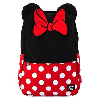 Loungefly x Disney Minnie hiiri Cosplay laptop reppu