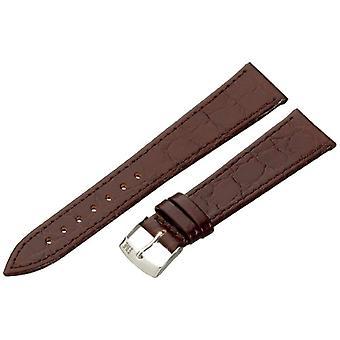 Morellato leather bracelet Brown 16 mm A01U1563821034CR20 BIRMINGHAM man