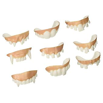 Archie McPhee Teeth Gnarly Teeth Set of 9