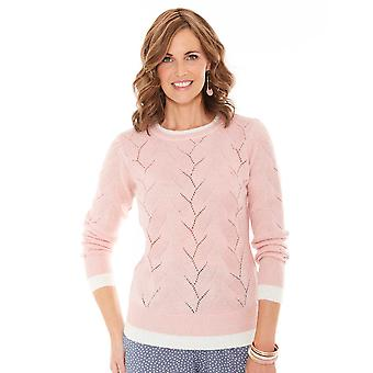 Chums Dames Pointelle Jumper