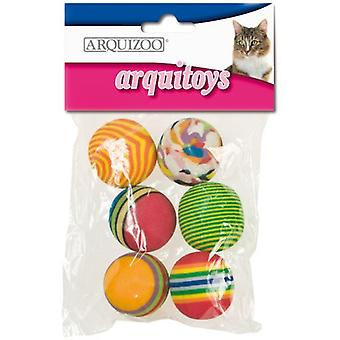 Arquivet Cat Ball Multicolor 3.5 Cm. (Cats , Toys , Balls)