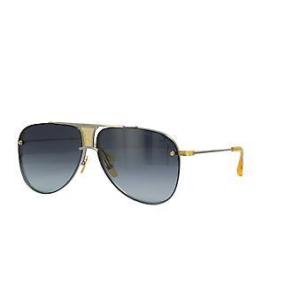DITA Decade Two Black Palladium-18K Gold/Grey Gradient Sunglasses