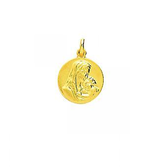 M Daille virgin or 750/1000 yellow pendant (18K)