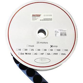FASTECH® T02047999903C1 Krok-och-slinga stick-on dot stick-on (smältlim) Krokdyna (Ø) 47 mm Svart 1 st