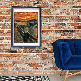 Edvard Munch - The Scream Poster Print Giclee
