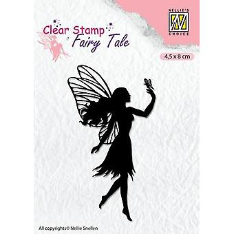 Nellie's Choice Clearstamp silhouette Fairy Tale Nr 8 FTCS008