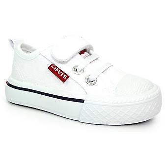 Levis Maui Mini Canvas Shoes White