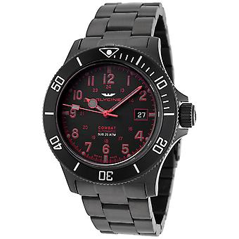 Combat 42mm Analog Men's Automatic Watch with GL0080 Stainless Steel Bracelet