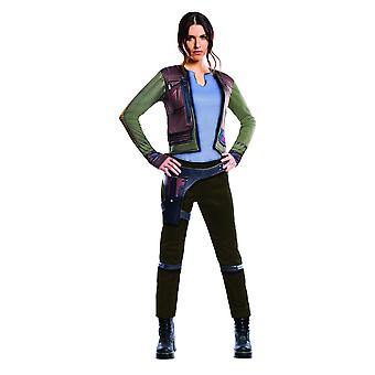 Star Wars Womens/Ladies Rogue One Deluxe Jyn Erso Costume