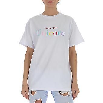 Irène Igtun001100 Femmes-apos;s White Cotton T-shirt