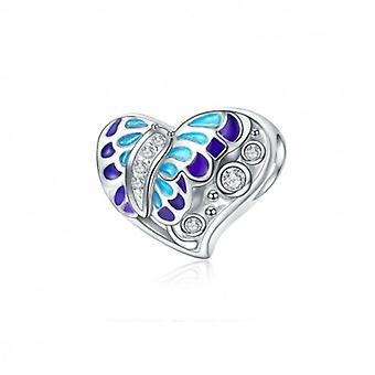 Sterling Silver Charm Fantasy Butterfly - 5553