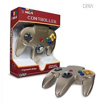 Nintendo 64 N64 Cirka Controller (Gold)