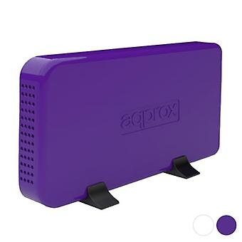 Ulkoinen laatikko n! appHDD08 3,5& USB/Valkoinen