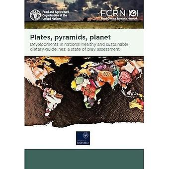 Plates, pyramids, planet: developments in national healthy and sustainable dietary guidelines: a state� of play assessment