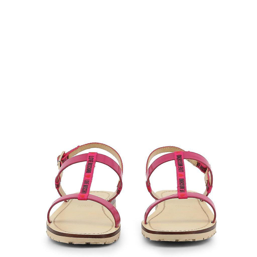 Woman leather sandals shoes lm47607