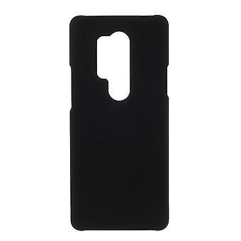 OnePlus 8 Pro Shell Shell plastica gommato - nero