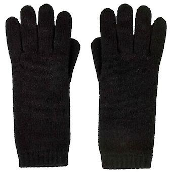 Johnstons of Elgin Short Cuff Gloves - Black