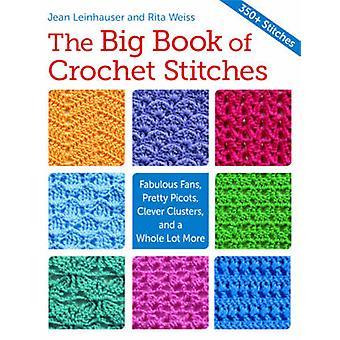 The Big Book of Crochet Stitches by Jean Leinhauser - Rita Weiss - 97