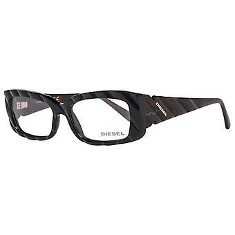 Damen Brillengestell Diesel DL5006-001-52 Schwarz (ø 52 mm)