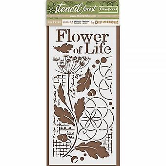 Stamperia Thick Stencil 12x25cm Flower of Life