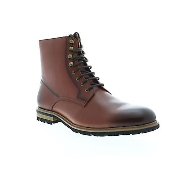 Engels Wasserij Flynn Heren Brown Leather High Top Casual Dress Boots