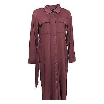 G.I.L.I. got it love it Petite Dress Peached Knit w/ Pockets Purple A293049