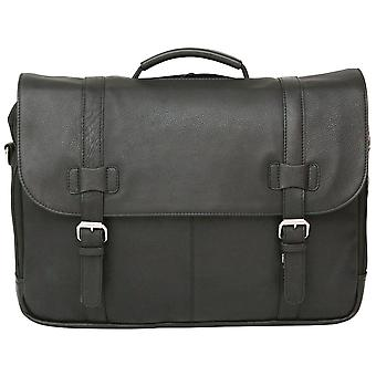 Felda RFID Colombian Genuine Leather Briefcase - Business Bag With Laptop & Tablet Pocket