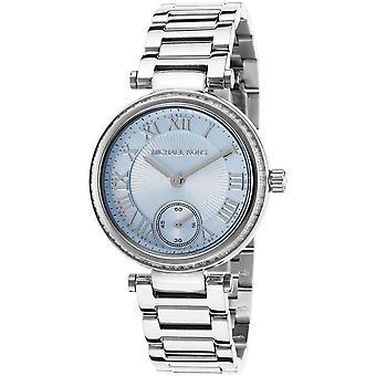 Michael Kors MK5988 Lichtblauw Zilver Roestvrij Staal Ladie's Horloge