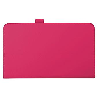 "Magnetic PU Leather Case Cover for LG G Pad F 8.0 8""[Hot Pink]"